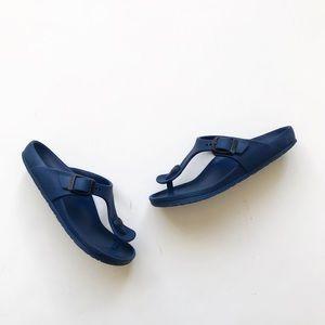 Birkenstock Navy Gizeh sandals VGUC size 30(12)